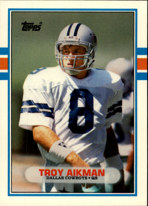 1989 Topps Traded #70T Troy Aikman RC