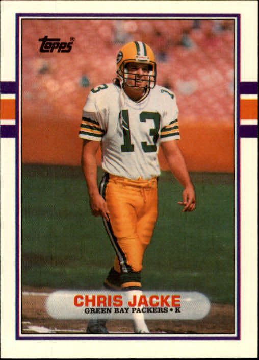 1989 Topps Traded #72T Chris Jacke RC