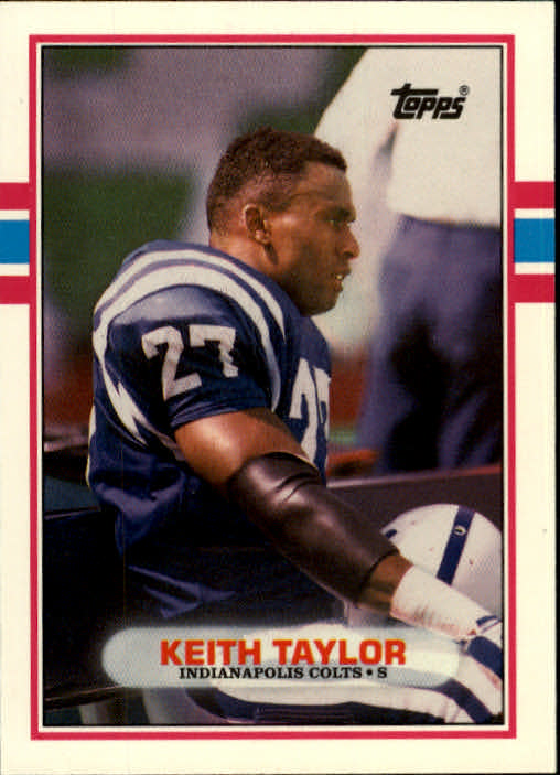 1989 Topps Traded #74T Keith Taylor RC