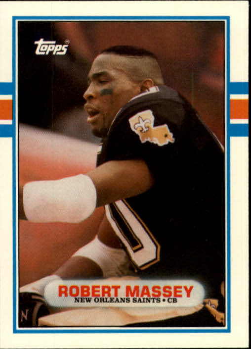 1989 Topps Traded #77T Robert Massey RC