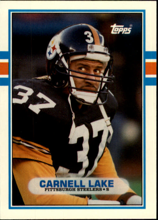 1989 Topps Traded #80T Carnell Lake RC