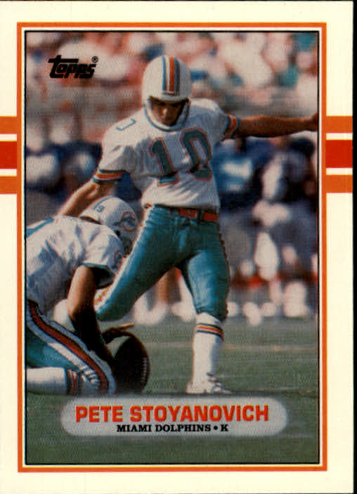1989 Topps Traded #84T Pete Stoyanovich RC