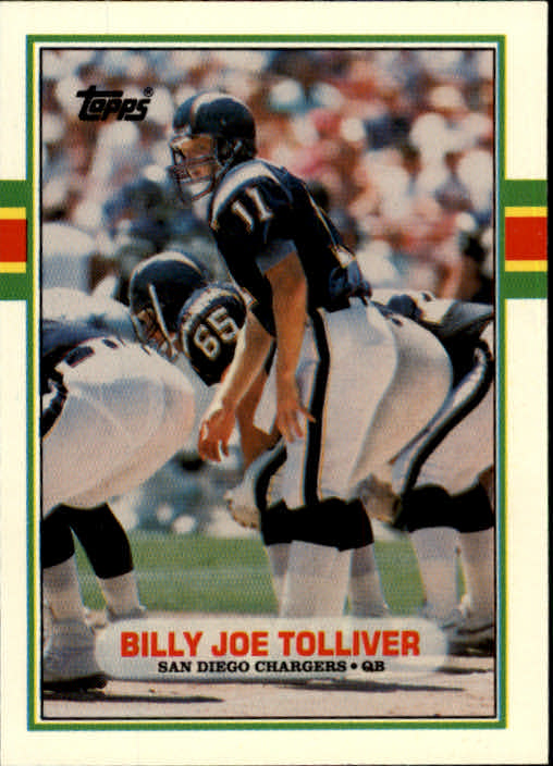 1989 Topps Traded #86T Billy Joe Tolliver RC