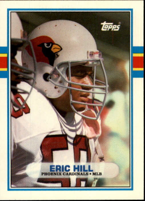 1989 Topps Traded #87T Eric Hill RC