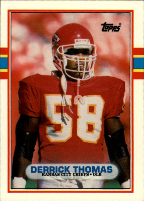 1989 Topps Traded #90T Derrick Thomas RC