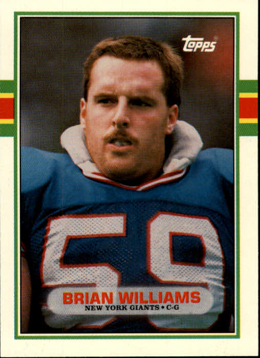 1989 Topps Traded #92T Brian Williams OL RC