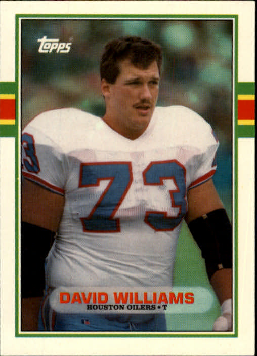 1989 Topps Traded #98T David Williams RC