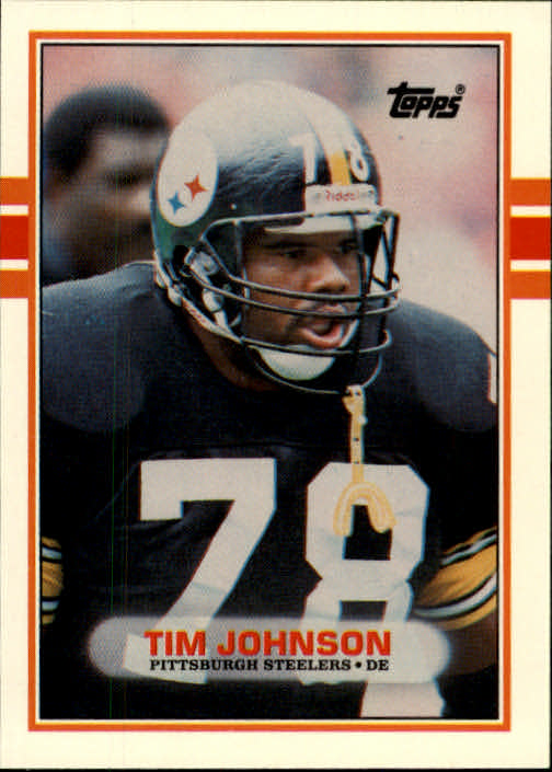 1989 Topps Traded #101T Tim Johnson RC front image