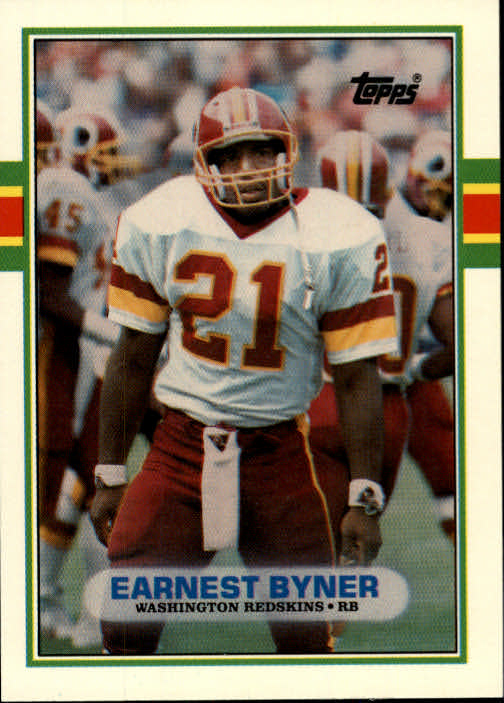 1989 Topps Traded #103T Earnest Byner