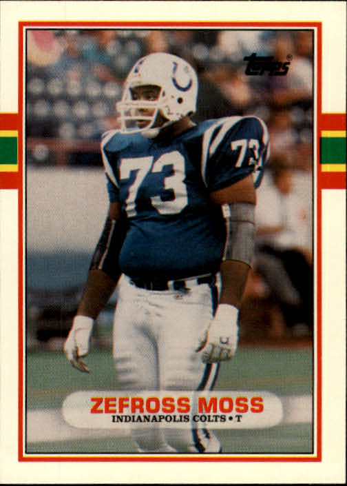 1989 Topps Traded #105T Zefross Moss RC