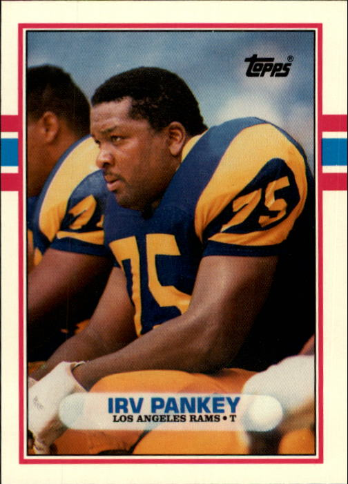 1989 Topps Traded #111T Irv Pankey RC