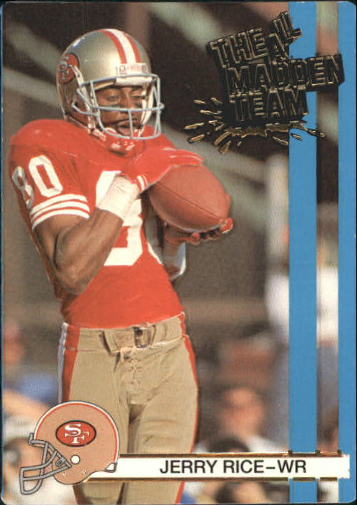 1990 Action Packed All-Madden #2 Jerry Rice