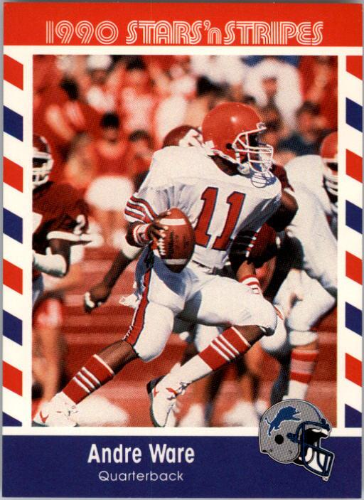 1990 Fleer Stars and Stripes #86 Andre Ware