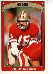 1990 Panini Stickers #357 Joe Montana