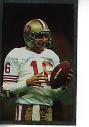 1990 Panini Stickers #396 Joe Montana FOIL