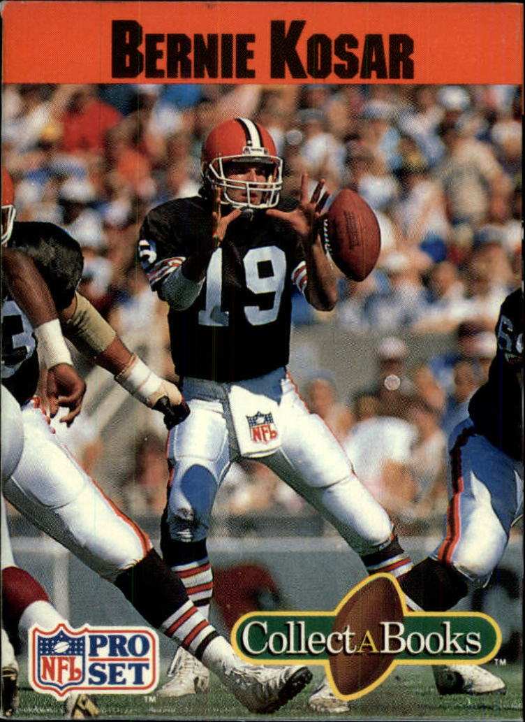 1990 Pro Set Collect-A-Books #5 Bernie Kosar
