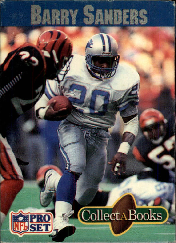 1990 Pro Set Collect-A-Books #7 Barry Sanders