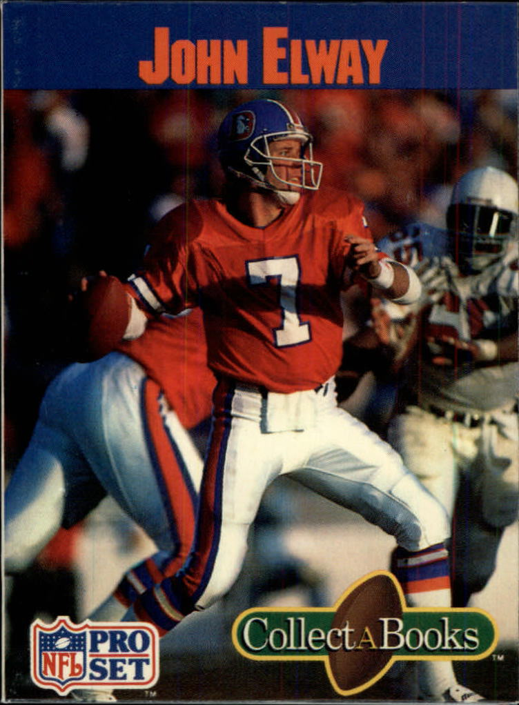 1990 Pro Set Collect-A-Books #15 John Elway