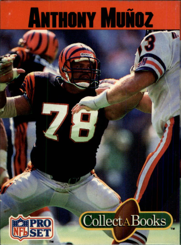 1990 Pro Set Collect-A-Books #32 Anthony Munoz