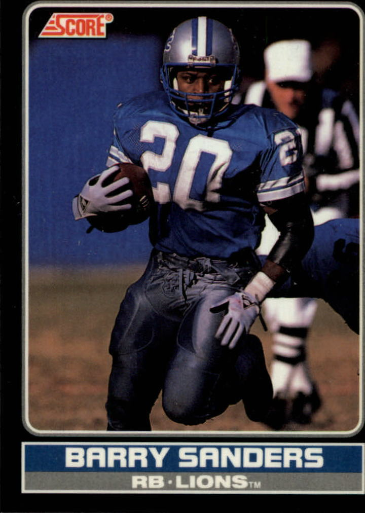 1990 Score Young Superstars #1 Barry Sanders
