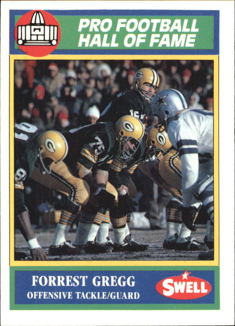 1990 Swell Greats #76 Forrest Gregg