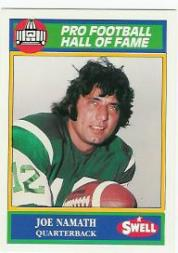 1990 Swell Greats #129 Joe Namath