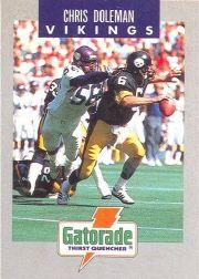 1990 Vikings Police #1 Chris Doleman