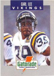 1990 Vikings Police #6 Carl Lee