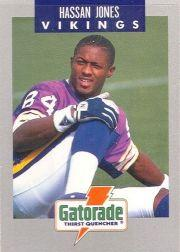 1990 Vikings Police #7 Hassan Jones