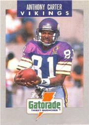 1990 Vikings Police #9 Anthony Carter