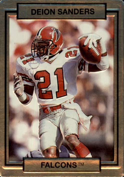 1990 Action Packed #9 Deion Sanders