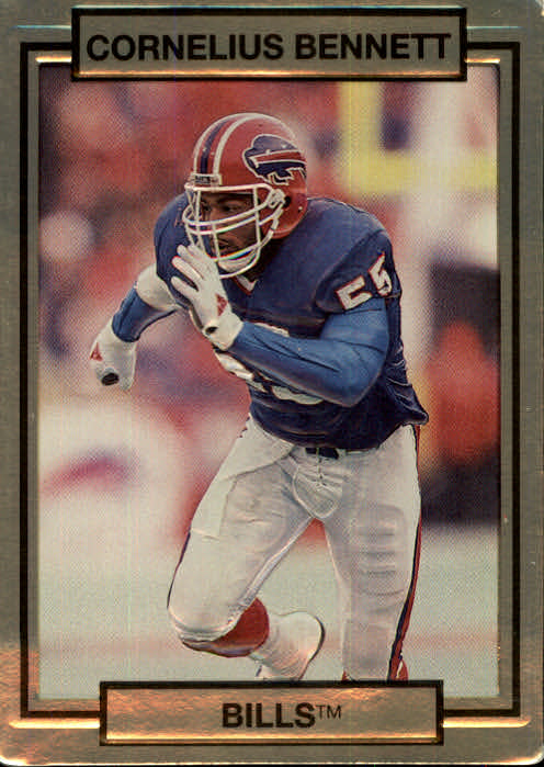 1990 Action Packed #11 Cornelius Bennett