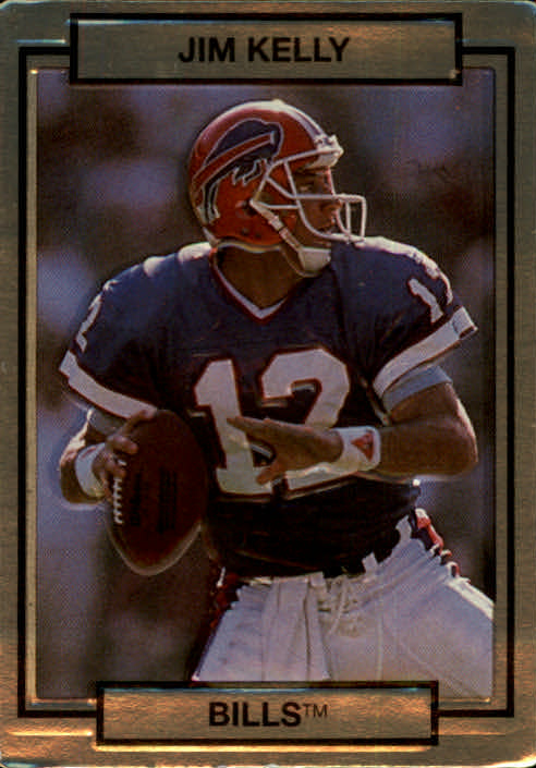 1990 Action Packed #14 Jim Kelly