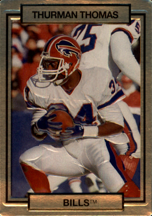 1990 Action Packed #20 Thurman Thomas