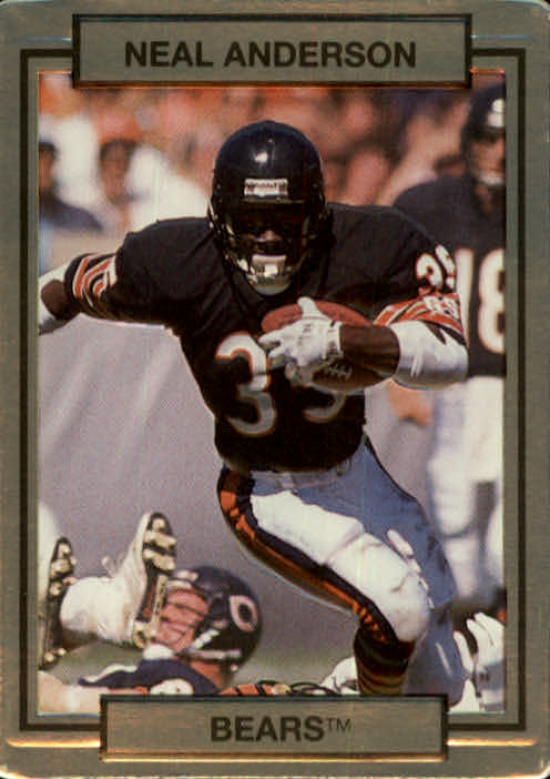 1990 Action Packed #21 Neal Anderson UER