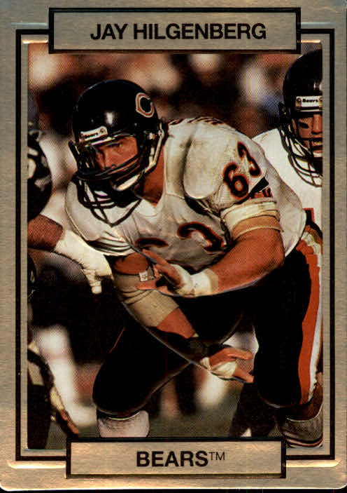 1990 Action Packed #26 Jay Hilgenberg