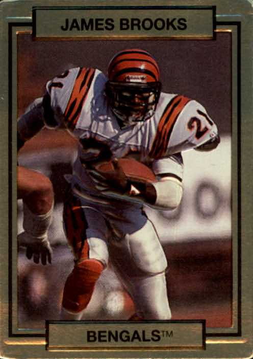1990 Action Packed #31 James Brooks