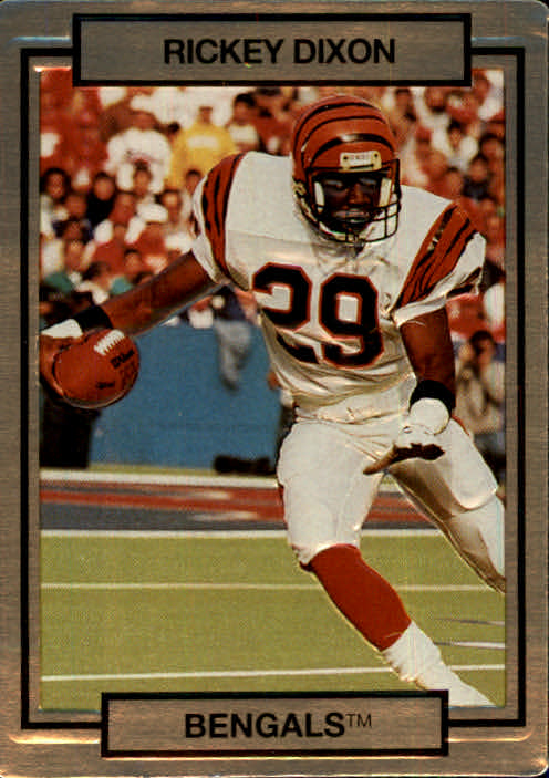 1990 Action Packed #32 Rickey Dixon RC