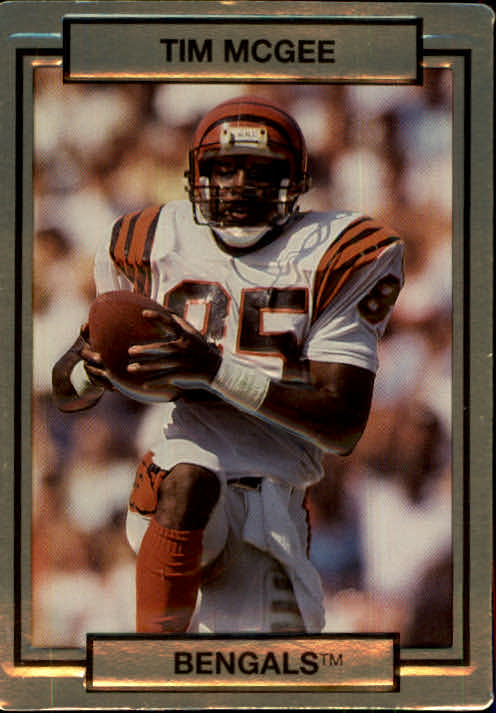 1990 Action Packed #37 Tim McGee