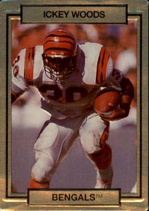 1990 Action Packed #40 Ickey Woods