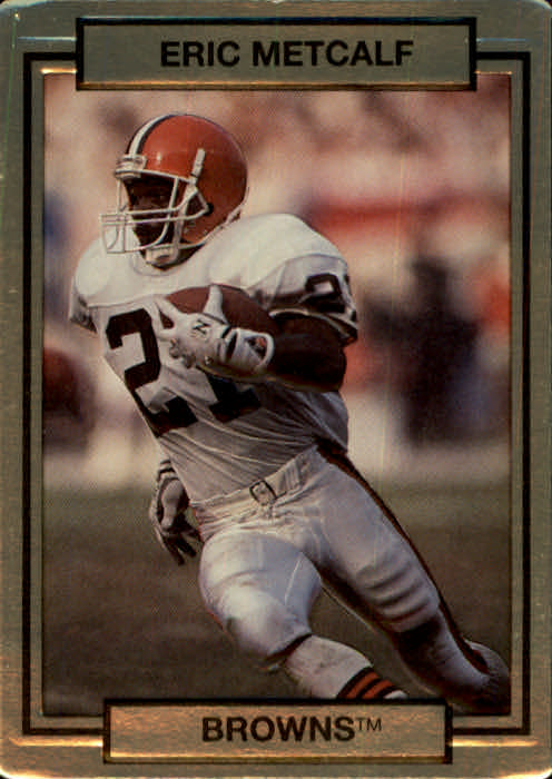 1990 Action Packed #46 Eric Metcalf