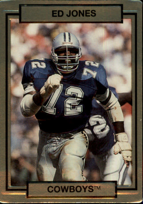 1990 Action Packed #55 Ed Too Tall Jones
