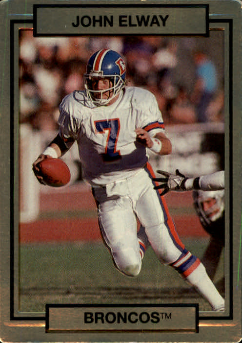 1990 Action Packed #63 John Elway