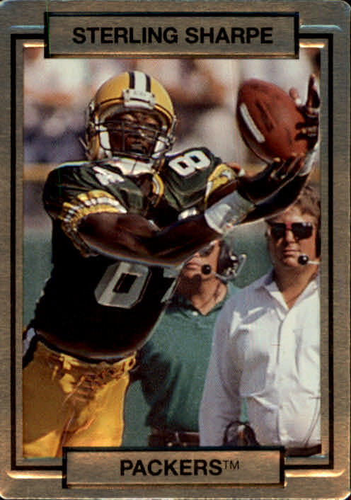 1990 Action Packed #90 Sterling Sharpe UER