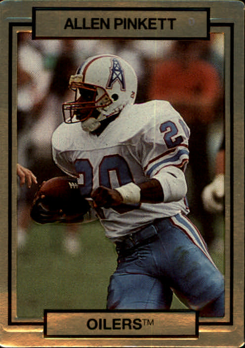 1990 Action Packed #99 Allen Pinkett
