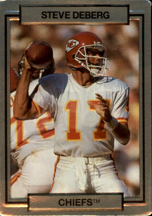 1990 Action Packed #112 Steve DeBerg