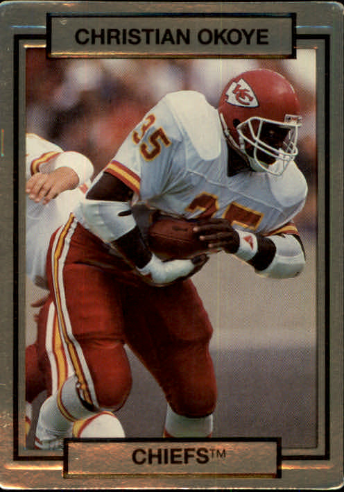 1990 Action Packed #116 Christian Okoye