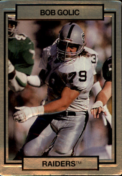 1990 Action Packed #127 Bob Golic