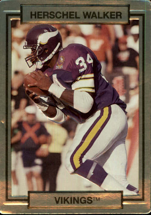 1990 Action Packed #158 Herschel Walker