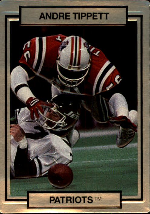 1990 Action Packed #169 Andre Tippett